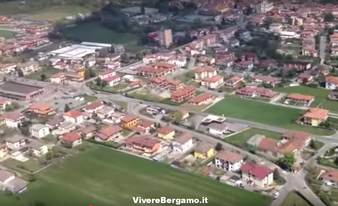 Bolgare il paese visto dall'alto