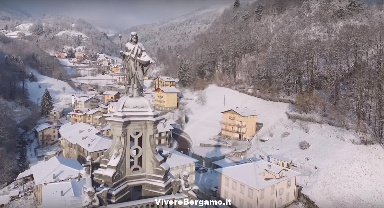Video Drone Santa Brigida e Averara