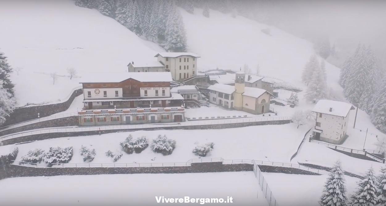 Madonna delle Nevi Video Drone - Mezzoldo