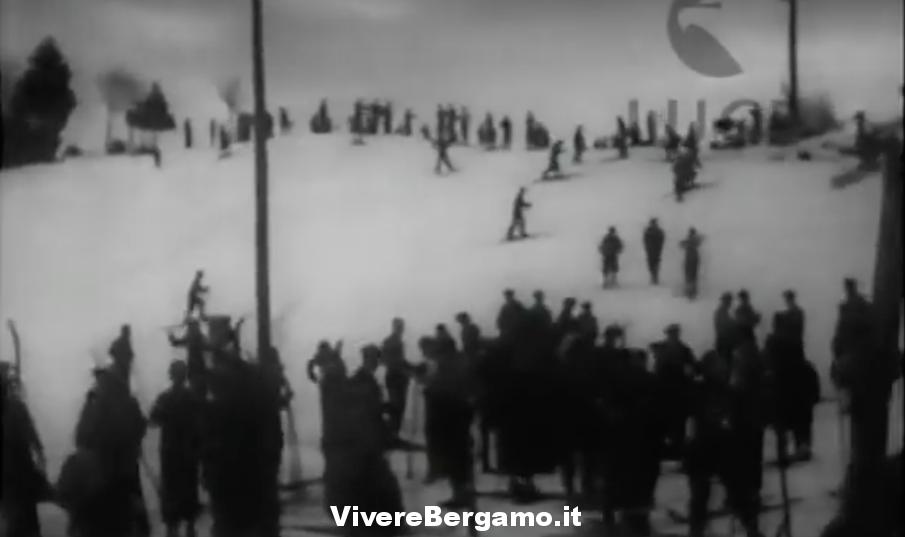 """Gruppo Sciistico""""Fior di Roccia"""" Bossico Video anno 1934"""