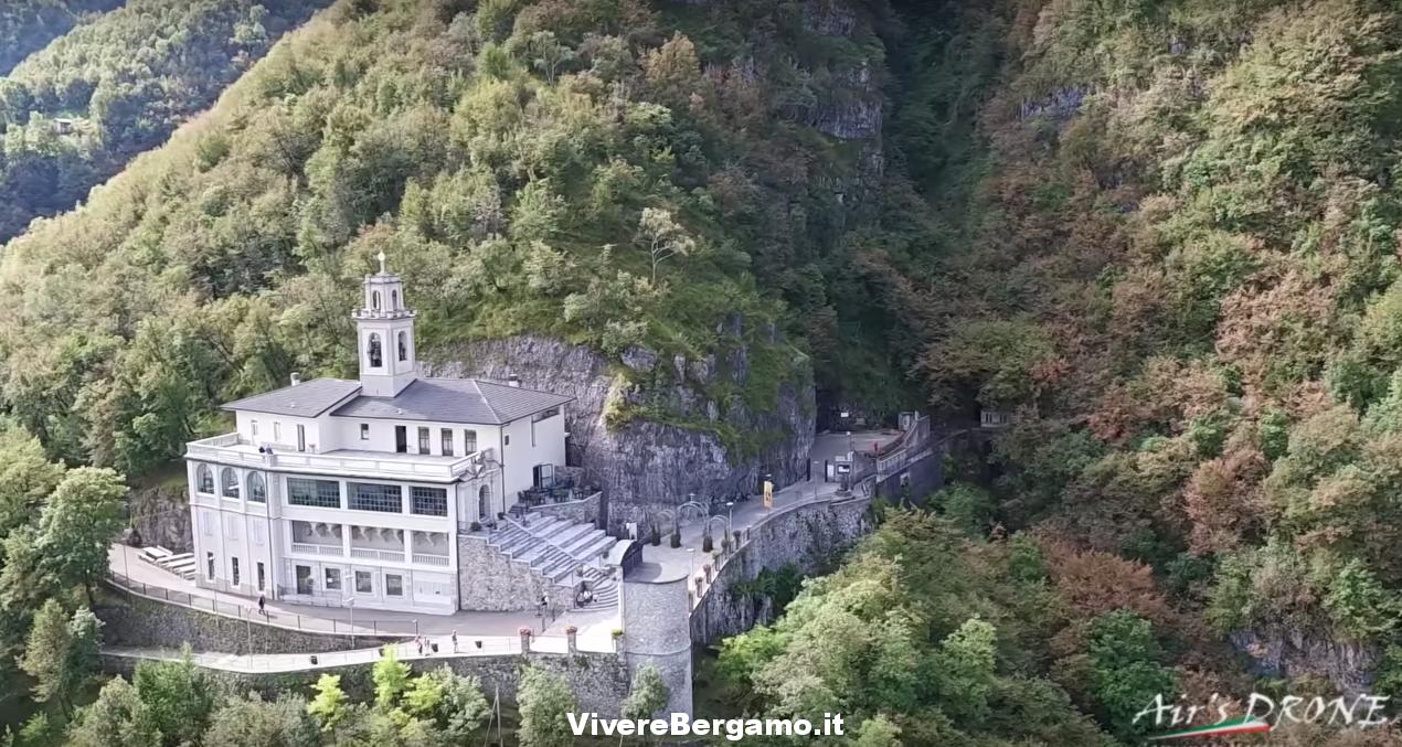 Video Drone Santuario Madonna della Cornabusa - Sant'Omobono Terme