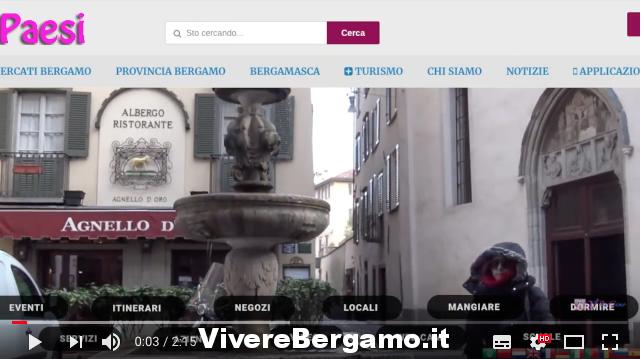 Portale Vivere Bergamo Servizio web
