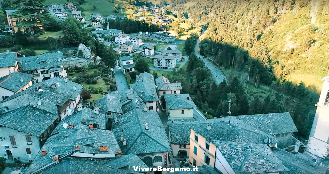 Gromo Video vista dal drone