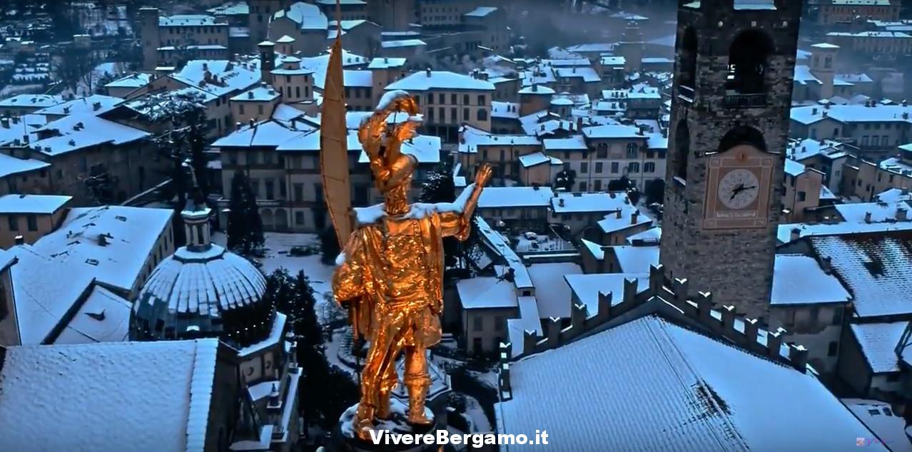 Bergamo e città alta Video Turismo