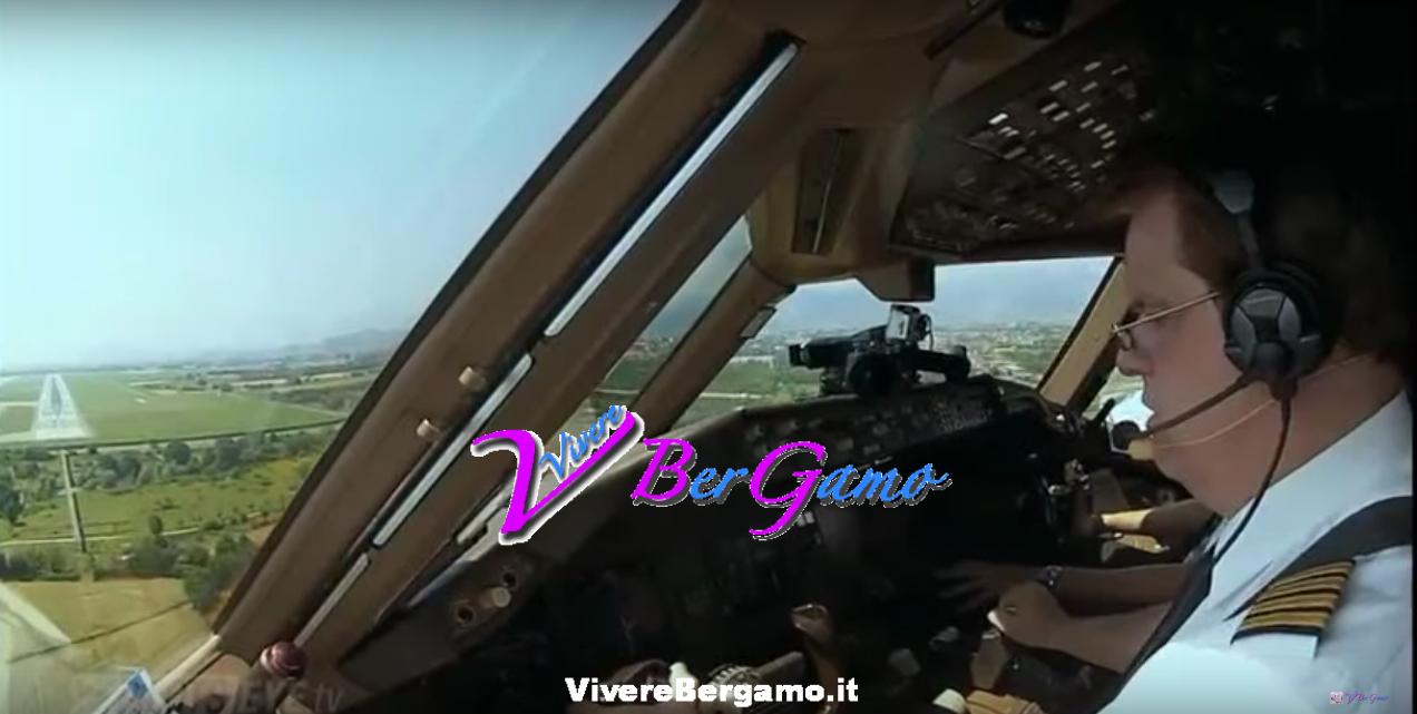 Video atterraggio aeroporto di Orio al Serio