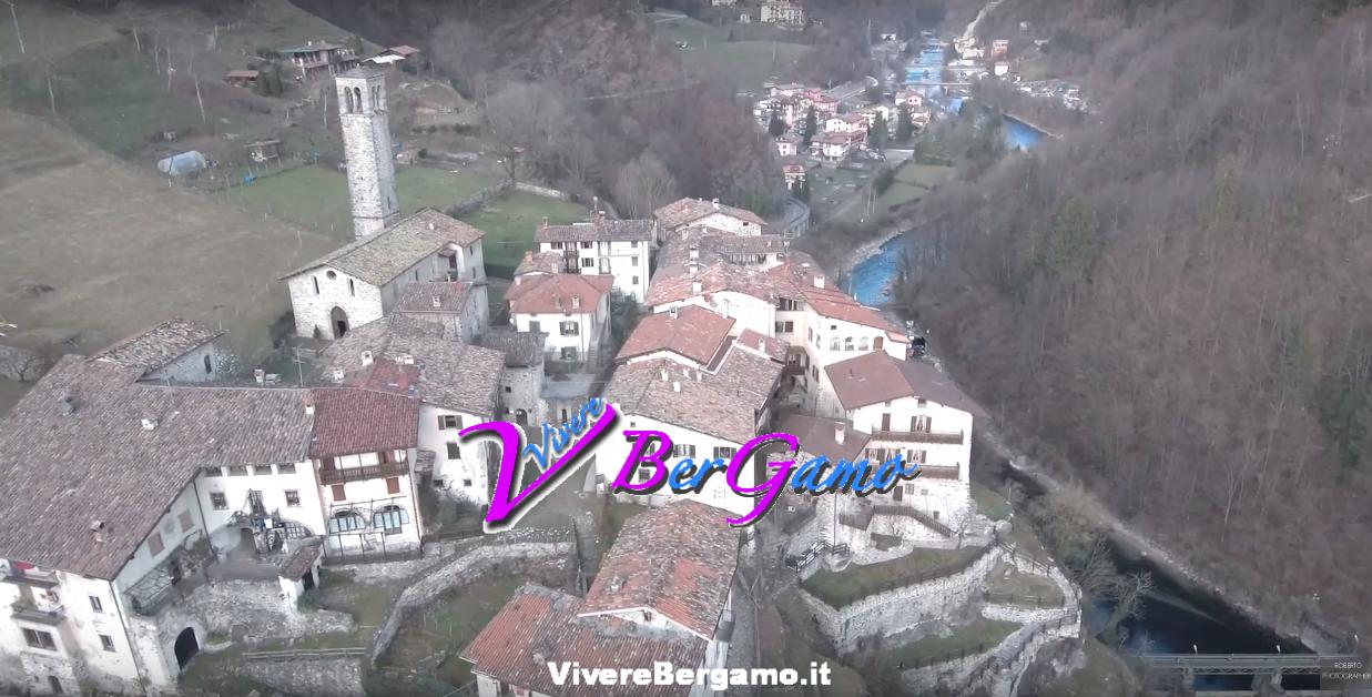 Video di Camerata Cornello dal drone