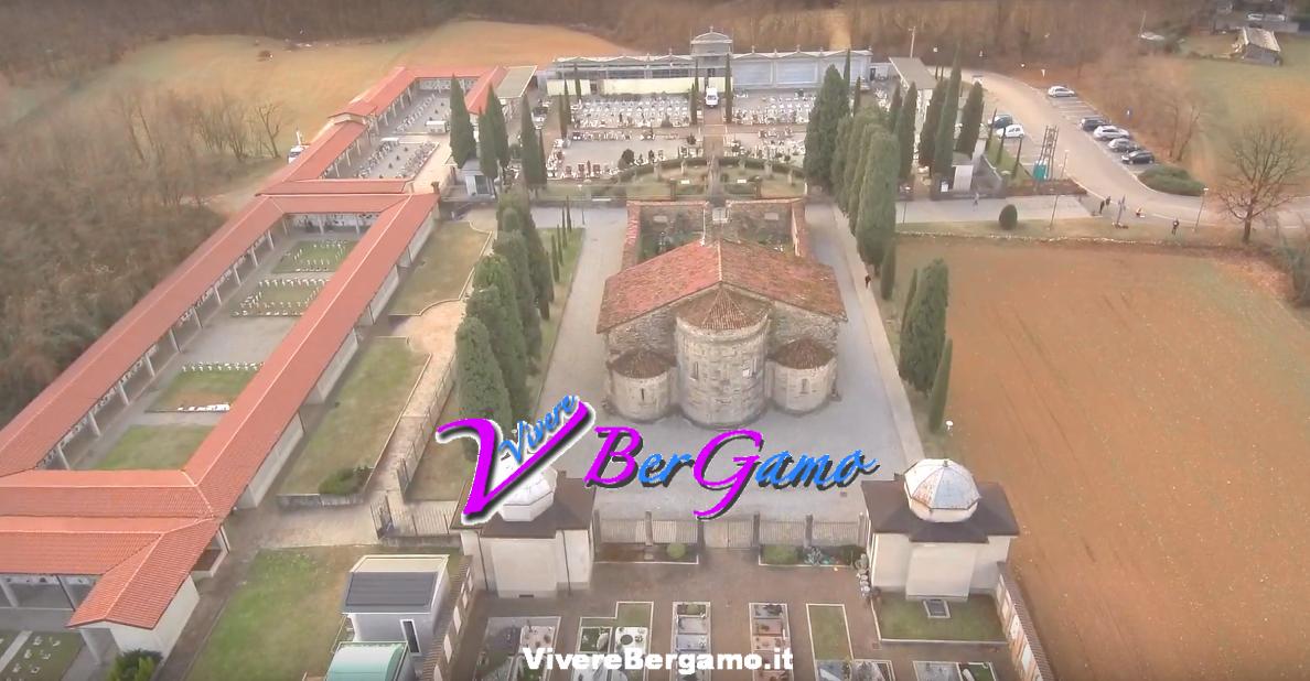 Basilica di Santa Giulia dal Drone - Bonate Sotto