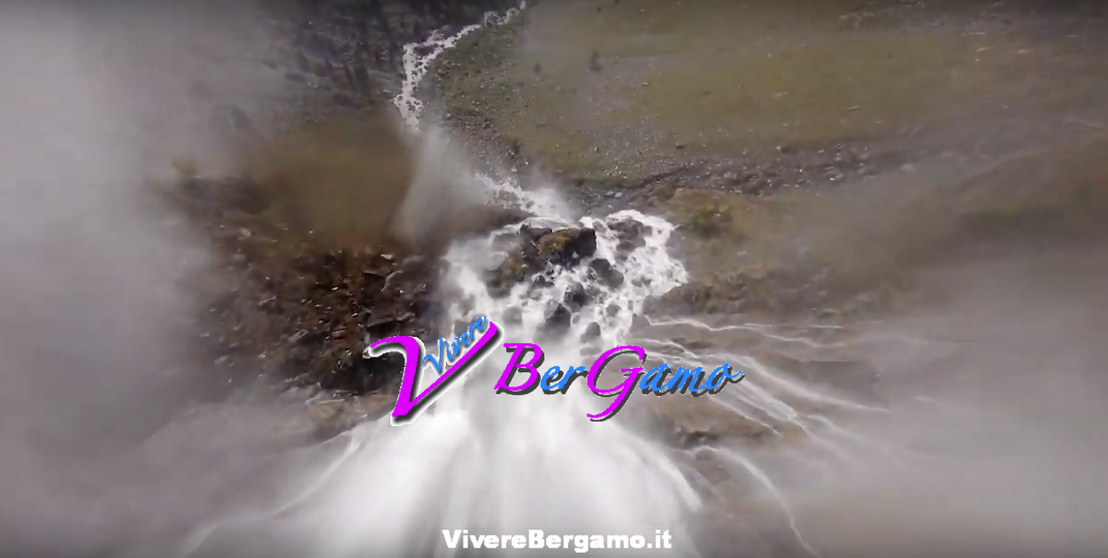 Cascate del Serio Video dal Drone