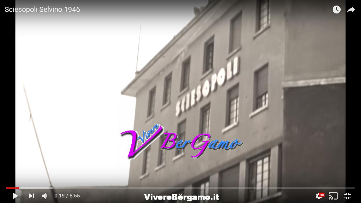 Sciesopoli Video del 1946 - Selvino