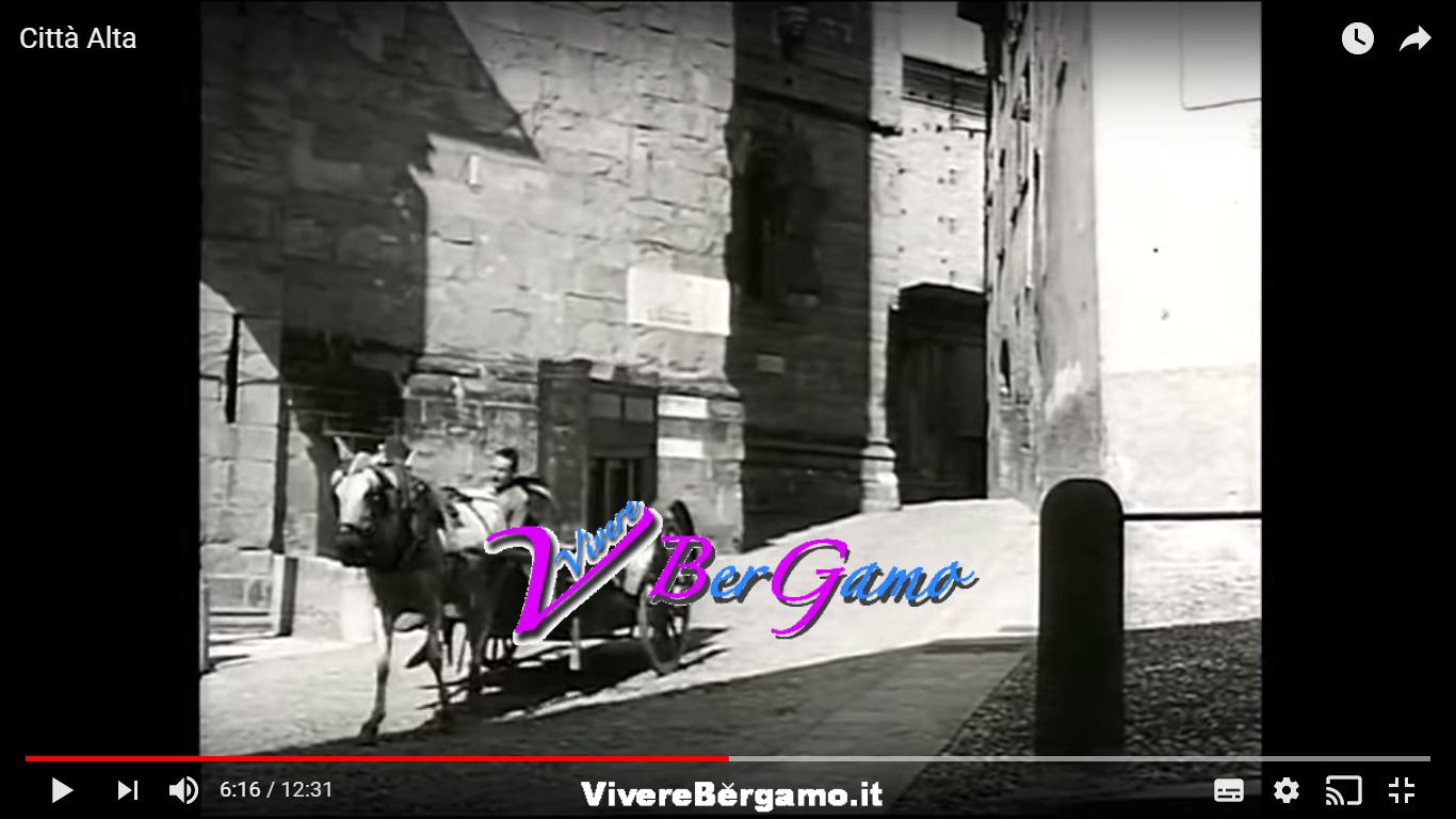 Video Città Alta nel 1949 - Bergamo