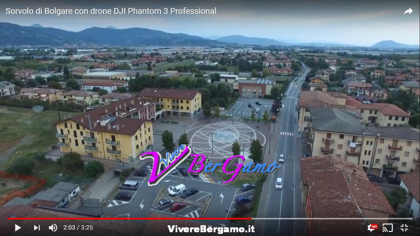 Bolgare vista dal Drone