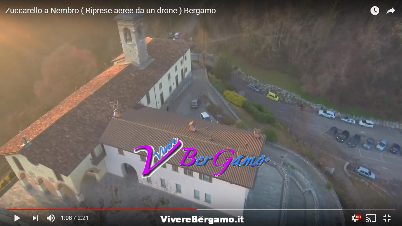 Video Santuario dello Zuccarello dal Drone - Nembro