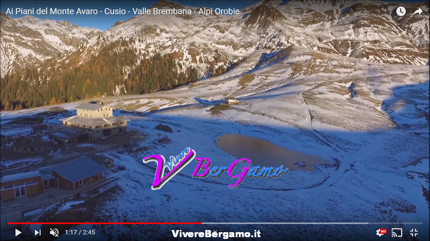 Video Drone Piani del Monte Avaro - Cusio