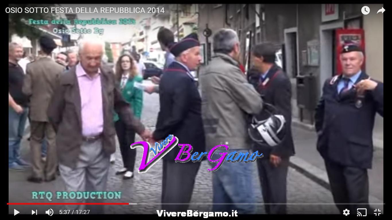 Video Festa della Repubblica 2014 - Osio Sotto